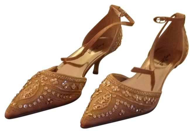 Item - Gold Formal Shoes Size US 10 Narrow (Aa, N)