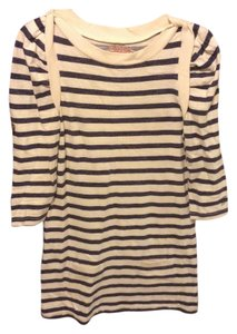 Juicy Couture short dress Blue Striped on Tradesy