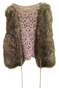 Daytrip Faux Fur Crochet Vest