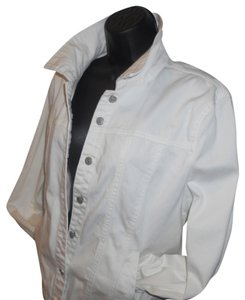Ami white Womens Jean Jacket