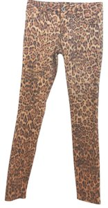 Alice + Olivia Animal Print Skinny Pants