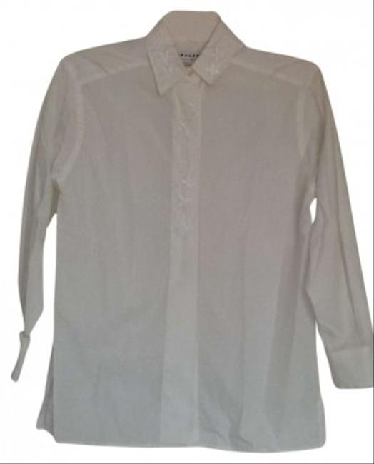 Preload https://item3.tradesy.com/images/jaeger-white-button-down-top-size-os-one-size-142292-0-0.jpg?width=400&height=650