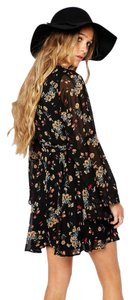 Free People short dress Retro Black Combo on Tradesy