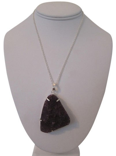 Other ARTISAN AMETHYST DRUZY PENDANT NECKLACE