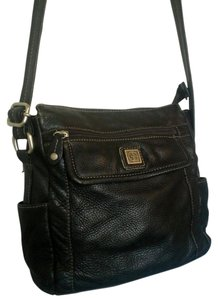 Giani Bernini Leather Cross Body Bag