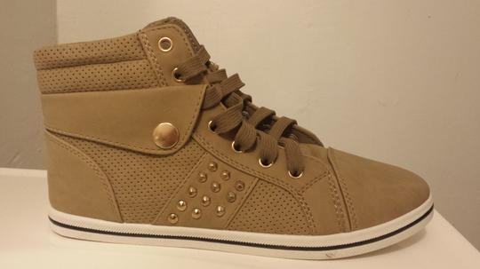 lucita High Top Sneaker khaki Athletic