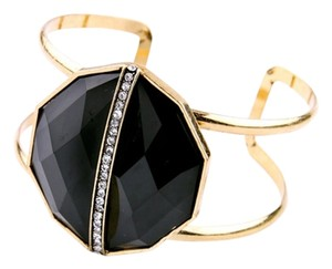 Other Black Stone Pave Cuff Bracelet