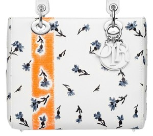 Dior Lady Lady Limited Tote in multi- color