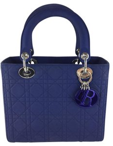 Dior 'lady Matte Tote in Blue