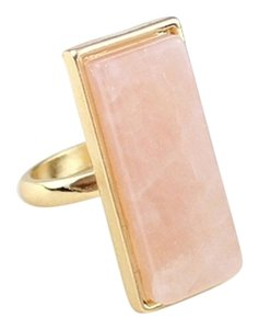 Other Pink Quartz Statement Ring