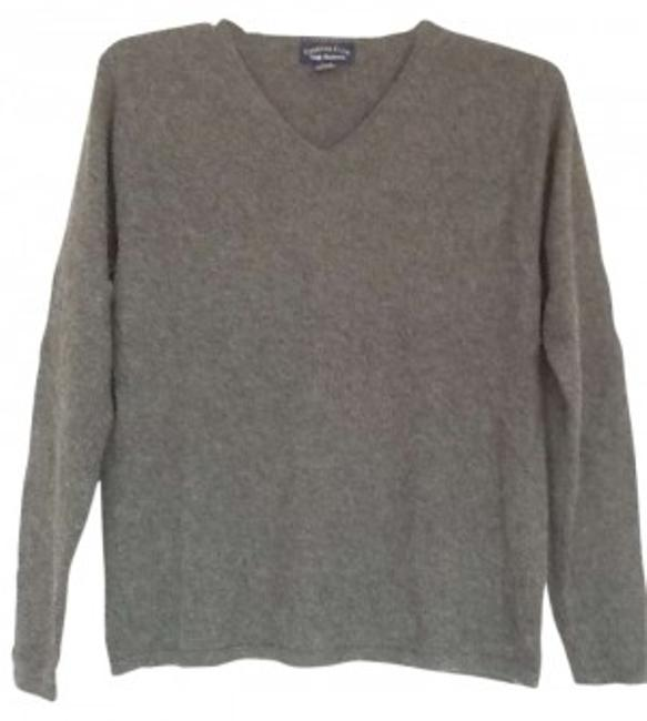 Preload https://item1.tradesy.com/images/charter-club-grey-2-ply-cashmere-sweaterpullover-size-8-m-142325-0-0.jpg?width=400&height=650