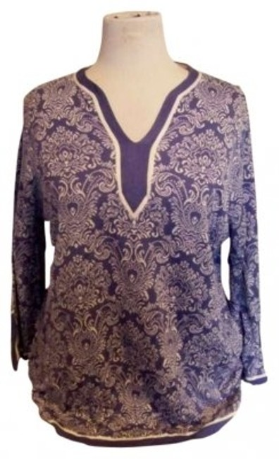 Preload https://item1.tradesy.com/images/jm-collection-blue-1x-tunic-size-20-plus-1x-142330-0-0.jpg?width=400&height=650