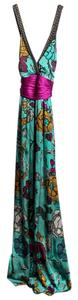 Etro Beaded Silk Long Dress