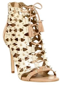 Sam Edelman Gold/ Nude Sandals