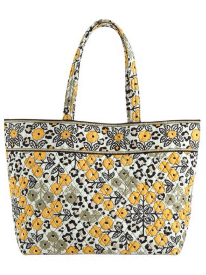 vera bradley grand tote carry on luggage extra large nwt go wild go wild tradesy. Black Bedroom Furniture Sets. Home Design Ideas