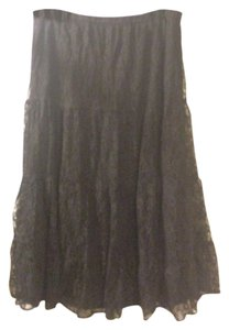 White Stag Maxi Skirt black