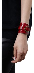 Condemned to Be Free Glazed Alligator Buckle Cuff