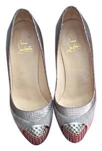 Christian Louboutin Elefante/pewter (gray/silver) Pumps