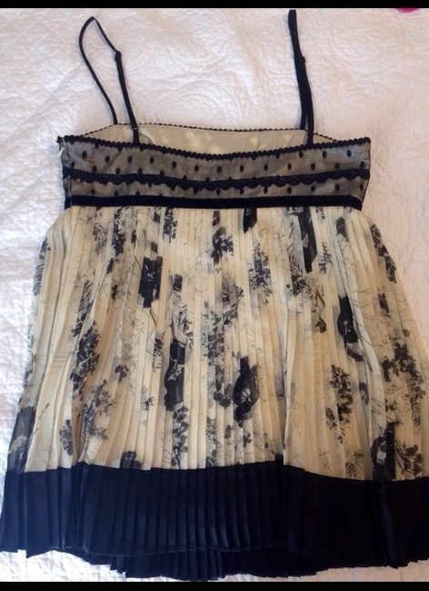 Laundry by Shelli Segal Top Black And Cream