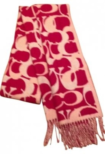 Preload https://item2.tradesy.com/images/coach-multi-colored-red-white-and-pink-scarfwrap-14236-0-0.jpg?width=440&height=440