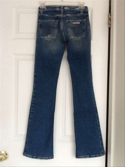 Hudson Flare Leg Jeans-Distressed