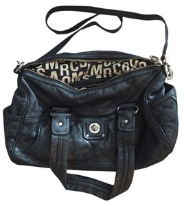 Marc by Marc Jacobs Totally Turnlock Satchel in Black