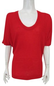 Piko 1988 Pullover Sweater Dolman Top Red