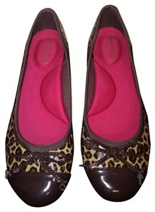 Sperry Leopard /brown Flats