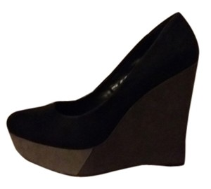 Worthington gray, black, light gray Wedges