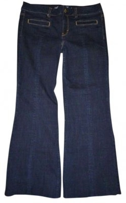 Preload https://img-static.tradesy.com/item/142376/american-eagle-outfitters-dark-wash-blue-vintage-flared-pants-size-14-l-34-0-0-650-650.jpg