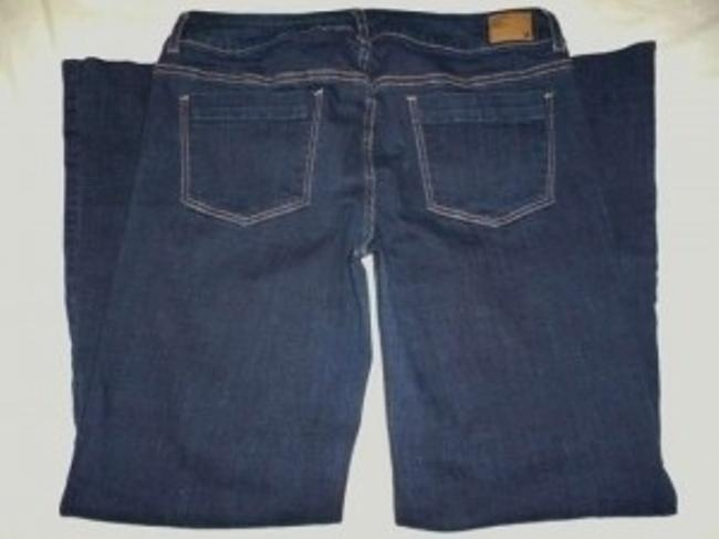 American Eagle Outfitters Flare Pants Dark Wash Blue