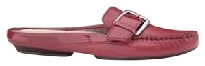 Cole Haan Red Mules