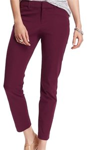 Old Navy Straight Pants Potent Purple