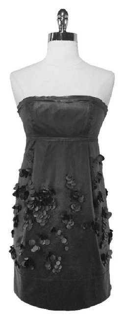 Robert Rodriguez Strapless Polyester Nylon Dress