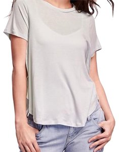 Old Navy Top Light Heather Grey