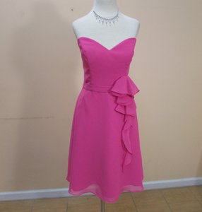 Alfred Angelo Fuchsia 7320s Dress