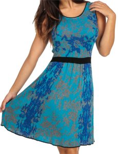 Burlington short dress Teal on Tradesy