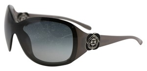 Chanel * Chanel Camellia Flower Shield Sunglasses 6032
