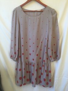 Anthropologie short dress Polka dot Pockets Drop Waist on Tradesy