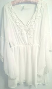 Auditions Cream Tunic