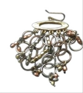 Chico's Chico's Multi Metal Bracelet and Earring Set