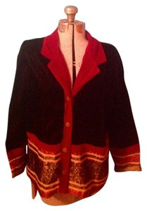 Coldwater Creek Velvet Button Down Petite Jacket