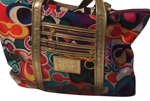 Coach Tote in Multi
