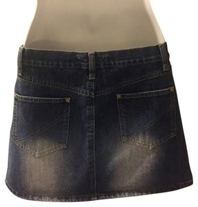 See by Chloé Mini Skirt Blue