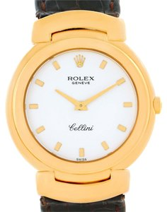 Rolex Rolex Cellini 18k Yellow Gold White Dial Quartz Ladies Watch 6622