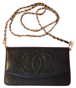 Chanel On A Chain Woc Timeless Caviar Quilted Flap CC Mini CROSSBODY Bag