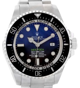 Rolex Rolex Seadweller Deepsea D-Blue Dial Mens Watch 116660 Box papers