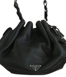 Prada Leather Handbag Shoulder Bag