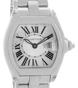Cartier Cartier Roadster Silver Dial Ladies Small Steel Watch W62016V3