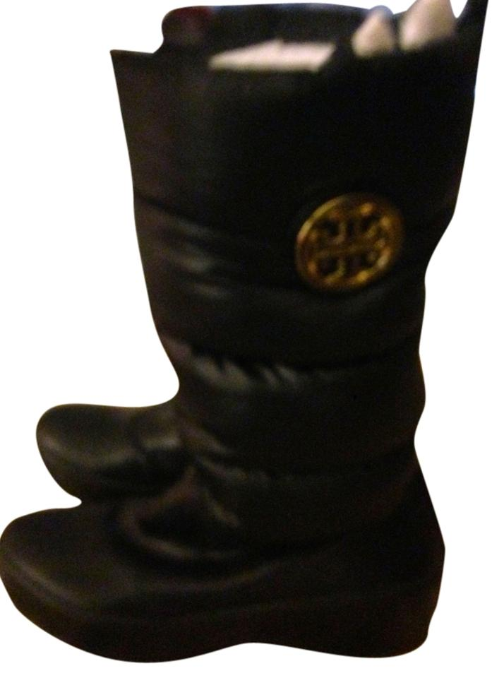 c3f7831233d Tory Burch Black Puffer Boots Booties Size US 9 Regular (M